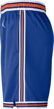 Jordan Men's New York Knicks Blue Dri-FIT Statement Swingman Shorts product image