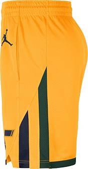 Jordan Men's Utah Jazz Dri-FIT Statement Swingman Black Shorts product image