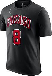 Jordan Men's Chicago Bulls Zach LaVine #8 Statement Black T-Shirt product image