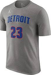 Jordan Men's Detroit Pistons Blake Griffin #23 Grey Statement T-Shirt product image