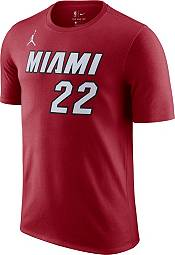 Jordan Men's Miami Heat Jimmy Butler #22 Red Statement T-Shirt product image