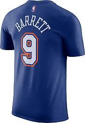 Jordan Men's New York Knicks RJ Barrett #9 Blue Statement T-Shirt product image