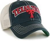 '47 Men's Texas Tech Red Raiders Tuscaloosa Clean Up Adjustable Black Hat product image
