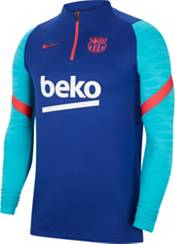 Nike Men's FC Barcelona Training Quarter-Zip Royal Jacket product image
