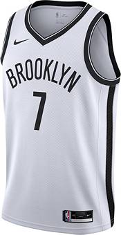 Nike Men's Brooklyn Nets Kevin Durant #7 White Dri-FIT Swingman Jersey product image