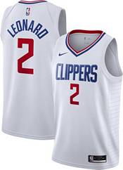 Nike Men's Los Angeles Clippers Kawhi Leonard #2 White Dri-FIT Swingman Jersey product image