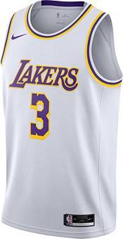 Nike Men's Los Angeles Lakers Anthony Davis #3 White Dri-FIT Swingman Jersey product image