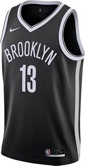 Nike Men's Brooklyn Nets James Harden #13 Black Dri-FIT Icon Edition Jersey product image