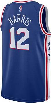 Nike Men's Philadelphia 76ers Tobias Harris #12 Blue Dri-FIT Icon Edition Jersey product image