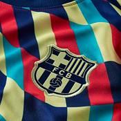 Nike Men's FC Barcelona Blue Prematch Jersey product image