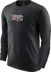 Nike Men's 2020-21 City Edition New York Knicks Courtside Long Sleeve T-Shirt product image
