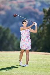 EP Pro Women's Tie Dye Sleeveless 1/4 Zip Golf Dress product image