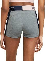 """Nike Women's Pro Graphic Color-Block 3"""" Shorts product image"""