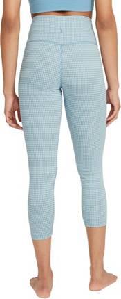Nike Women's Dri-FIT Gingham Cropped Yoga Leggings product image