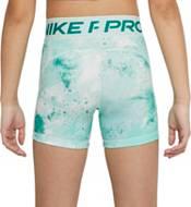 """Nike Girls' Pro Sky-Dye 3"""" Shorts product image"""