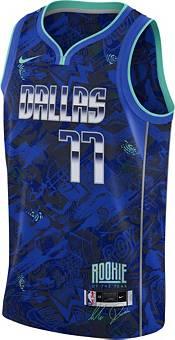 Nike Men's Dallas Mavericks Luka Doncic Royal Blue Dri-FIT Swingman Jersey product image