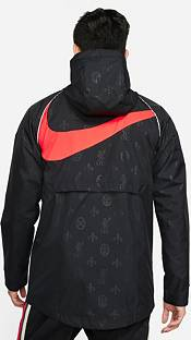 Nike Men's Liverpool FC Grey AWF GX Jacket product image