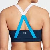 DSG Women's Front Zip Strap Back Sports Bra product image
