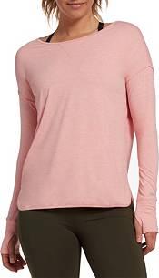 DSG Women's Everyday Scoop Back Heather Long Sleeve Shirt product image