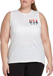 DSG Women's Core Cotton Jersey Graphic Tank Top (Plus and Regular) product image