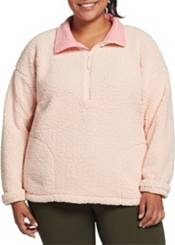 DSG Women's Plus Size Sherpa 1/4 Zip Pullover product image