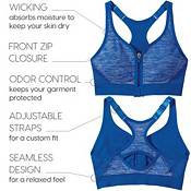 DSG Women's Seamless Front Zip Sports Bra product image