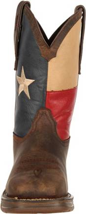 "Durango Men's Rebel Texas Flag 11"" Waterproof Steel Toe Western Work Boots product image"