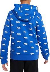 Nike Boys' Sportswear Allover Script Hoodie product image