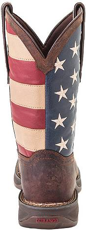 Durango Men's American Flag Pull-On Western Work Boots product image