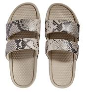 Women's Two Strap Snake Print Slides product image