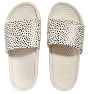 Women's One Strap Confetti Dot Printed Slides product image