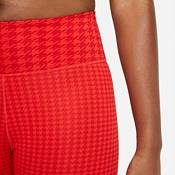 Nike Women's Dri-FIT One Icon Clash Mid-Rise 7/8 Printed Leggings product image