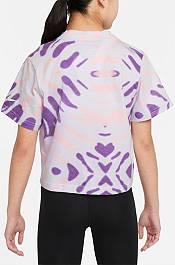 Nike Girls' Sportswear Tie Dye Boxy T-Shirt product image