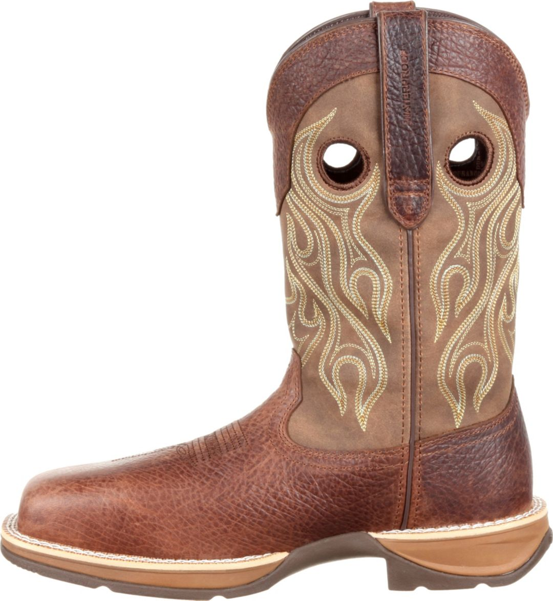 7f269b649f0 Durango Men's Rebel Waterproof Composite Toe Western Work Boots