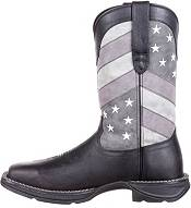 Durango Men's Faded Black Flag Western Boots product image