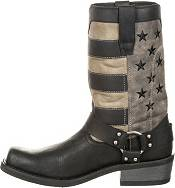 Durango Men's Black Flag Harness Western Boots product image