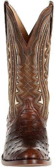 Durango Men's Oiled Saddle Ostrich Western Boots product image