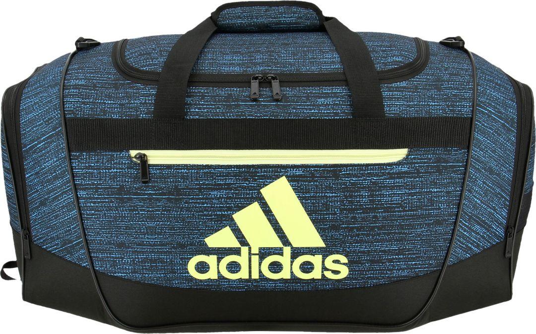 b545283e6443d3 adidas Defender III Small Duffle Bag. noImageFound. Previous. 1. 2