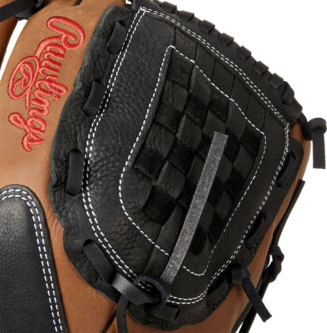 RAWLINGS 2019 BASEBALL//SOFTBALL GLOVE RE-LACE PACK TWO TONED LACE BROWN//GREY
