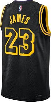 Nike Men's Los Angeles Lakers LeBron James #23 Swingman Jersey product image