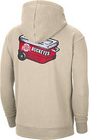 Nike Men's Ohio State Buckeyes Brown Football Tailgate Club Fleece Hoodie product image
