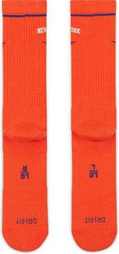Nike New York Knicks Orange Elite Crew Socks product image