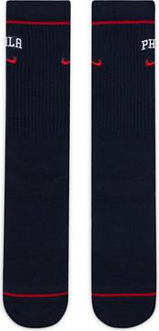 Nike Philadelphia 76ers Blue Elite Crew Socks product image