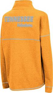 Colosseum Women's Tennessee Volunteers Tennessee Orange Horsetail Half-Zip Shirt product image