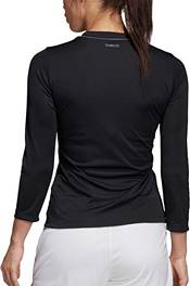 adidas Women's Club UV Protect ¾ Sleeve Tennis Shirt product image