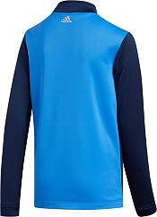 adidas Boys' Color Blocked ¼ Zip Golf Pullover product image