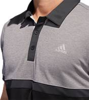 adidas Men's Drive Heather Colorblock Golf Polo product image