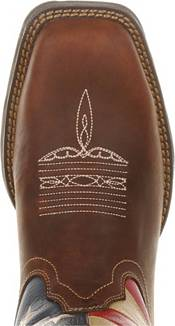 Durango Women's Lady Rebel Patriotic Flag Steel Toe Western Work Boots product image