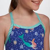 Dolfin Girls' Uglies Dream of Mermaid Print One Piece Swimsuit product image