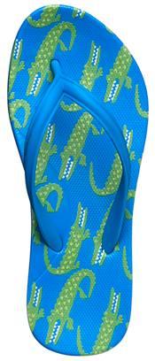 DSG Kids' Alligator Flip Flops product image